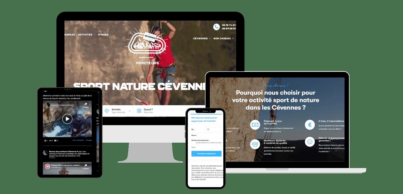 Creation site web pour association sportive Toulouse muret montauban occitanie midi pyrénées haute garonne