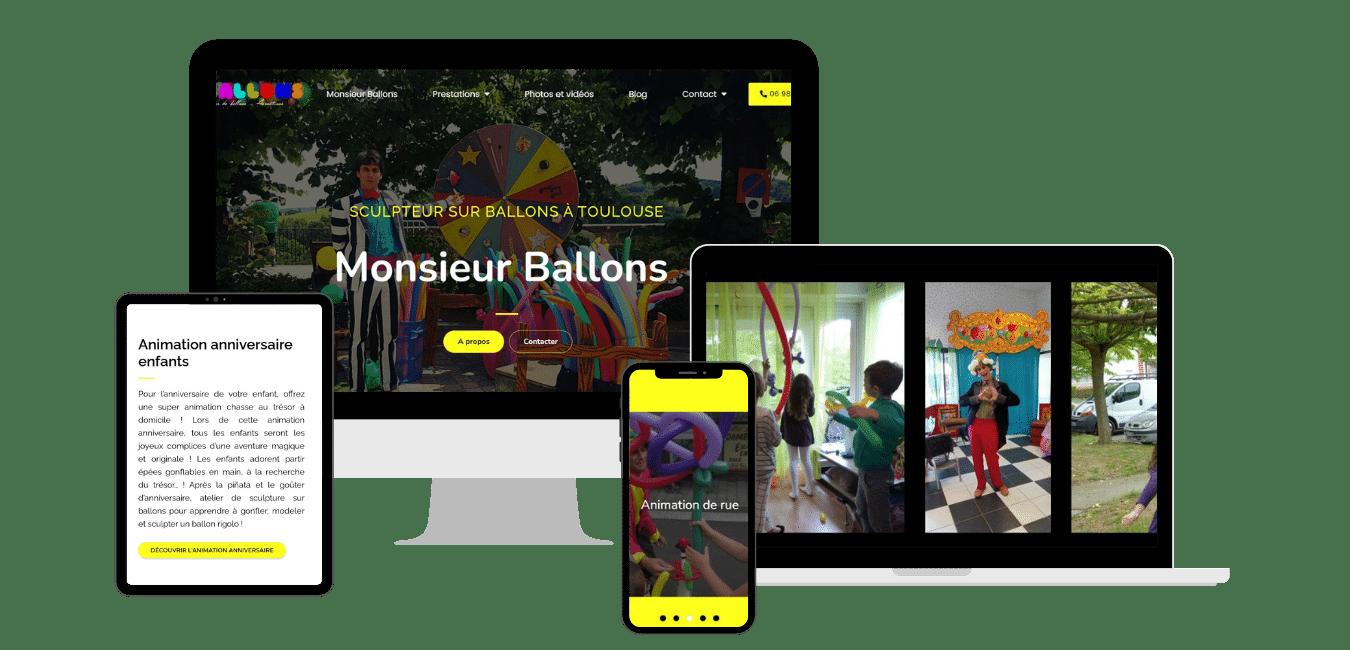 Création site web pour intermittent du spectacle Toulouse, Haute Garonne, Midi-Pyrénées Occitanie, montauban, muret, occitanie, haute Garonne