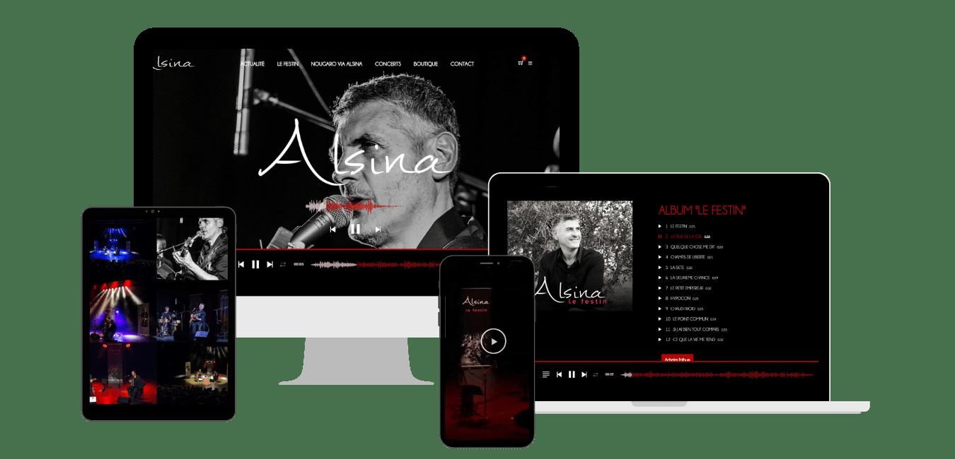 création site web pour artiste toulouse création de site internet pour artiste Toulouse Haute Garonne Occitanie